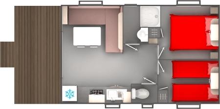 cottage résidentiel plan