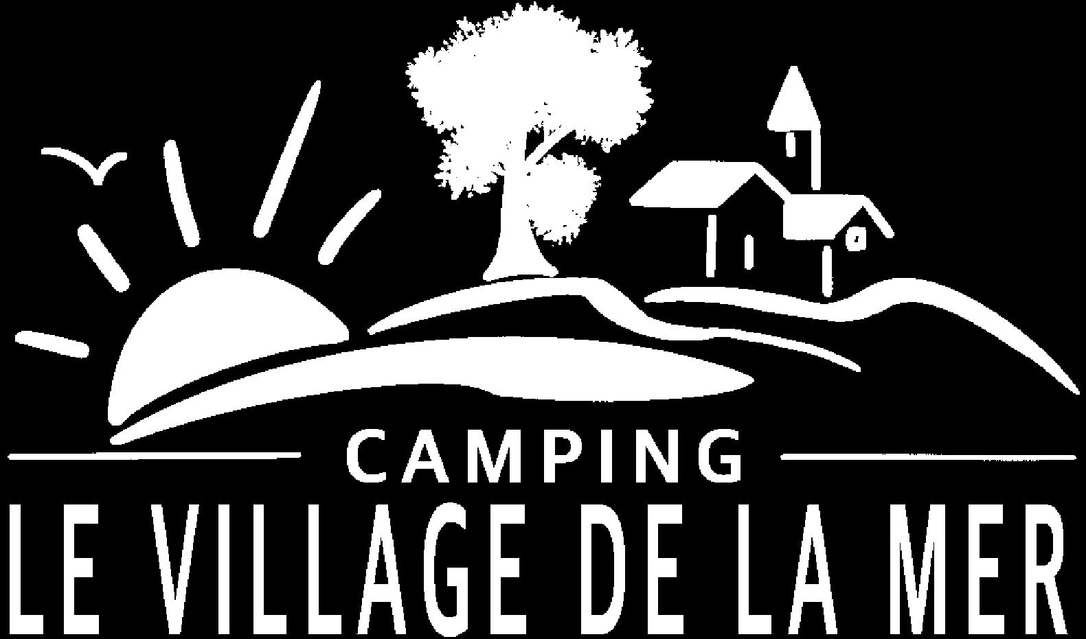 logo village de la mer blanc